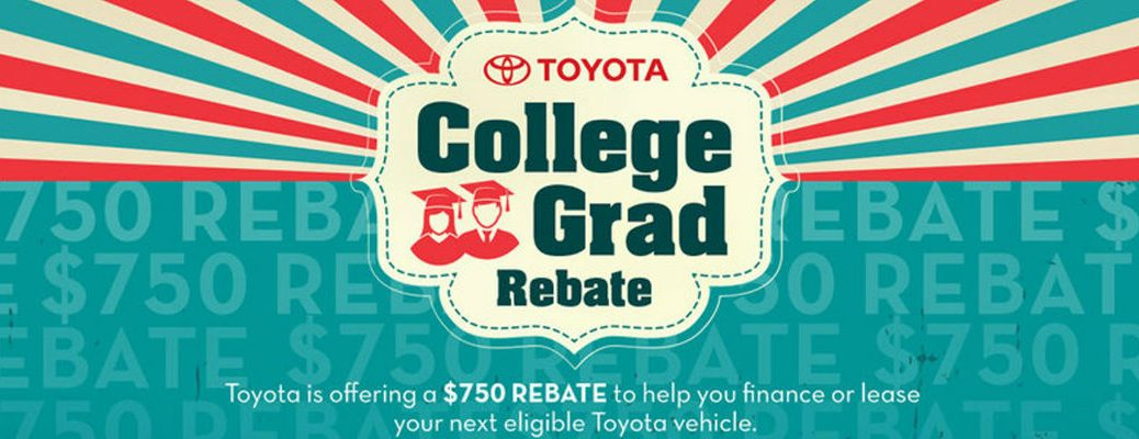 Banner for College Graduate Program and Rebate