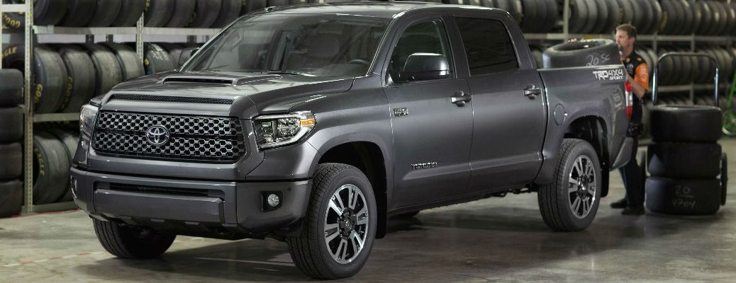 Gray 2018 Toyota Tundra TRD Sport in Service Center