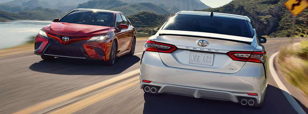 Next Generation Toyota Camry Amps Up Style At Downeast Toyota Downeast Toyota