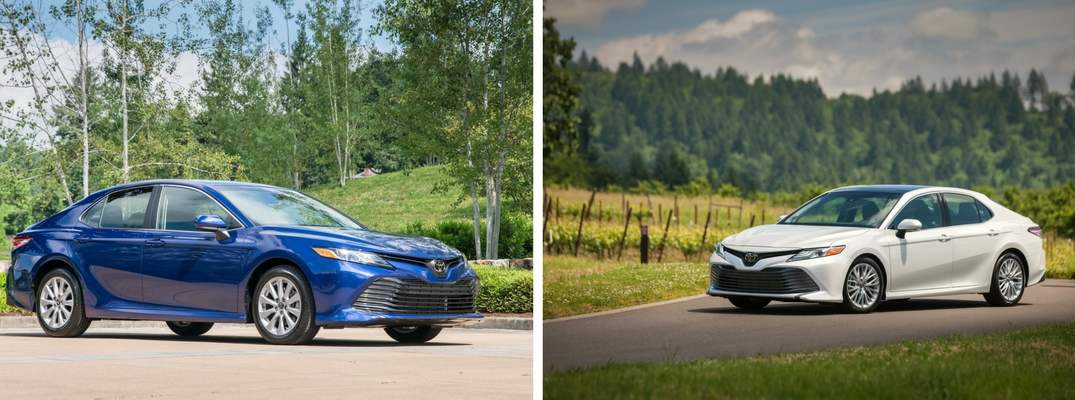Toyota Camry Trim Levels >> What Are The Differences Between Toyota Camry Le And Camry
