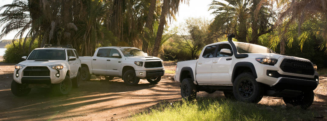 Upgraded Toyota TRD Pro Tacoma, Tundra and 4Runner Models Debut at Chicago Auto Show