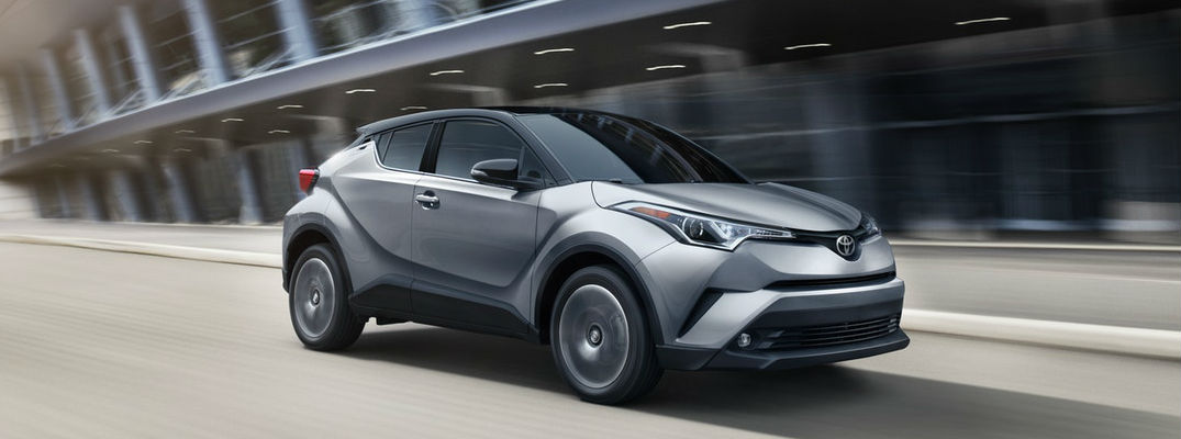 Toyota C-HR Features a One-of-a-Kind Style with 7 Available Colors