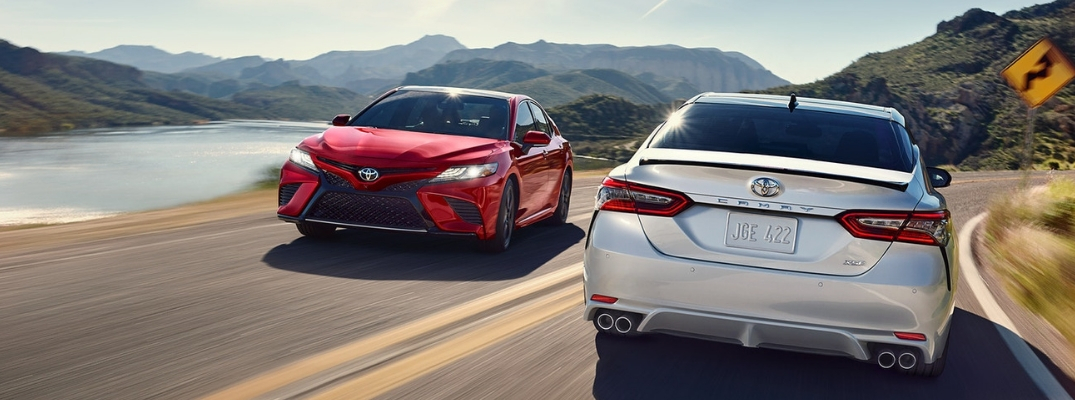 Available 2019 Toyota Camry Interior And Exterior Color Options