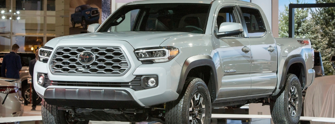Check Out Photos and Videos of the 2020 Toyota Tacoma and 2020 Toyota RAV4 TRD Off-Road