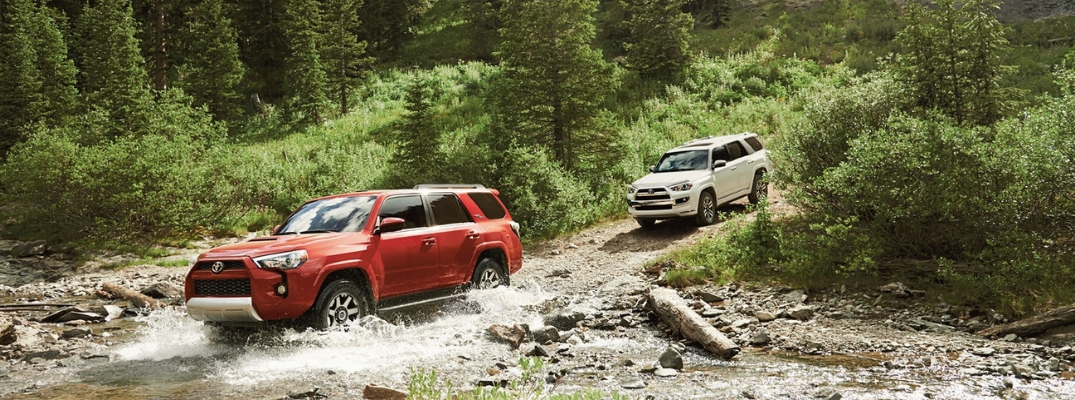 Find a Toyota Truck or SUV with Four-Wheel Drive at Downeast Toyota in Brewer