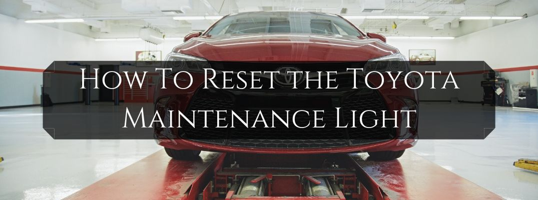 Step-By-Step Guide to Turn Off the Toyota Maintenance Required Light