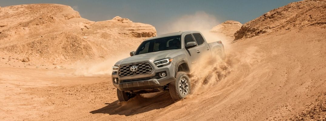 Toyota Tacoma Available in 6 Trail-Ready Trim Levels at Downeast Toyota