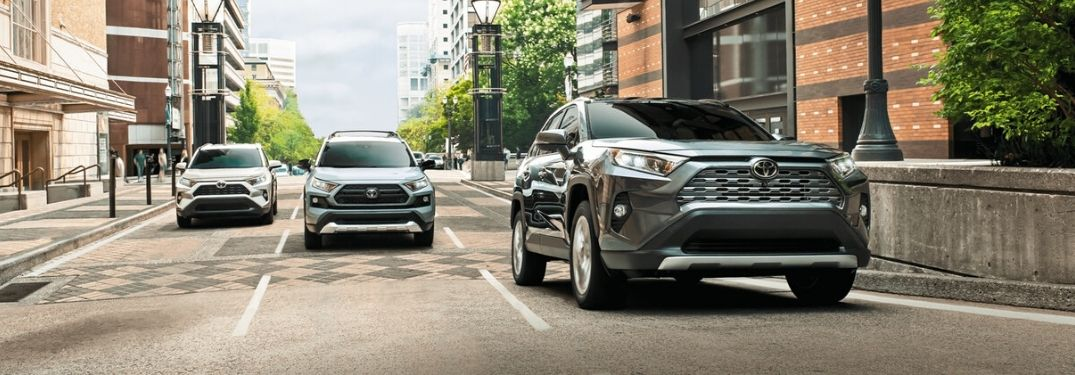 How Many Colors Does the 2020 Toyota RAV4 Come In?