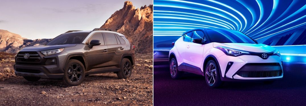 2020 Toyota RAV4 vs 2020 Toyota C-HR: Which Toyota Crossover Fits You Best?