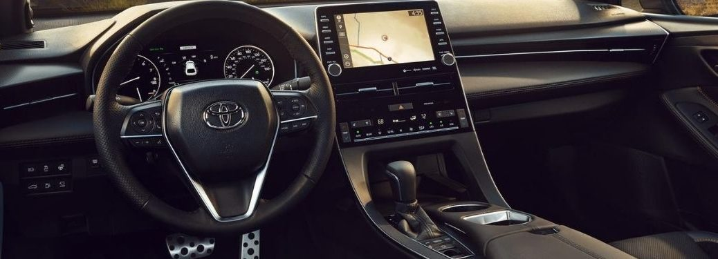2021 Toyota Avalon Steering Wheel and Touchscreen Display with Navigation