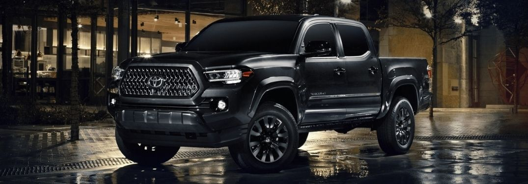 Nightshade Edition Adds Aggressive Style to the 2021 Toyota Tacoma Lineup