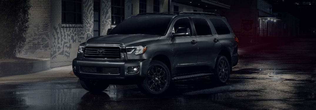 Family-Friendly 2021 Toyota Sequoia Adds All-Black Nightshade Edition to Lineup