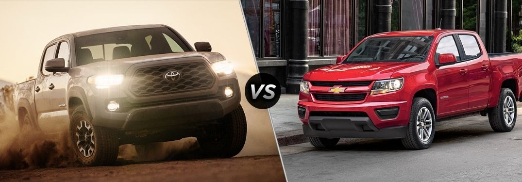 2020 Toyota Tacoma vs 2020 Chevy Colorado: Video Comparison Guide