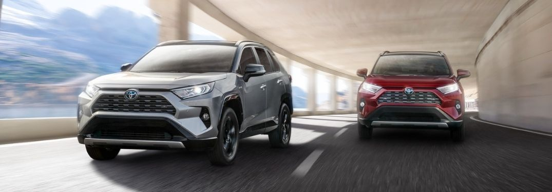 Find a 2021 Toyota RAV4 Color to Match Your Style at Downeast Toyota