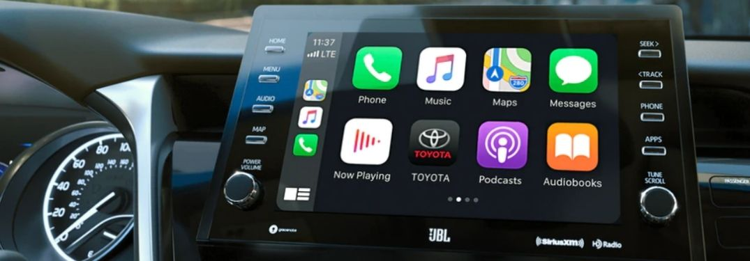 Toyota Entune™ 3.0 Adds Apple CarPlay and Android Auto to Select Toyota Models