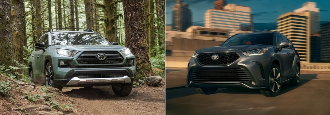 2021 Toyota RAV4 vs 2021 Toyota Highlander: Find the Right Fit at Downeast Toyota
