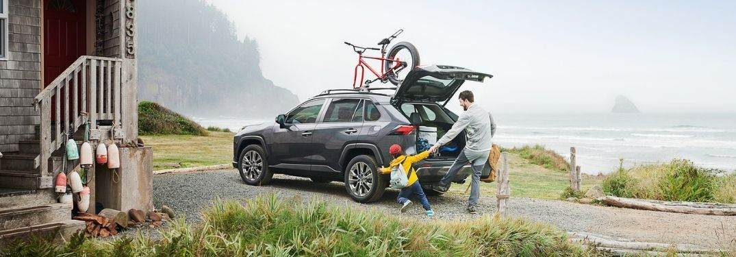 Guide to 2021 Toyota RAV4 Cargo and Passenger Space Specs