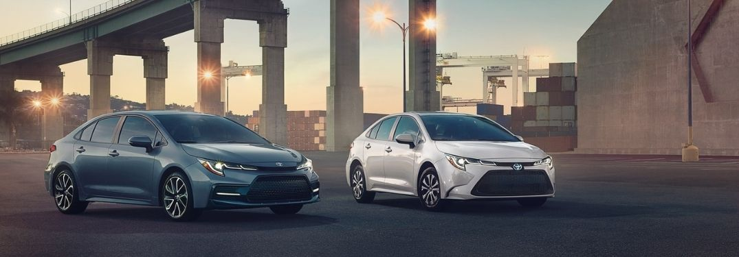 Differences Between the Toyota Corolla LE and Toyota Corolla SE Trim Levels