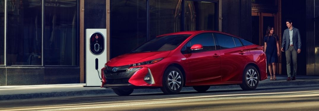 Step-By-Step Instruction on Charging the 2021 Toyota Prius Prime