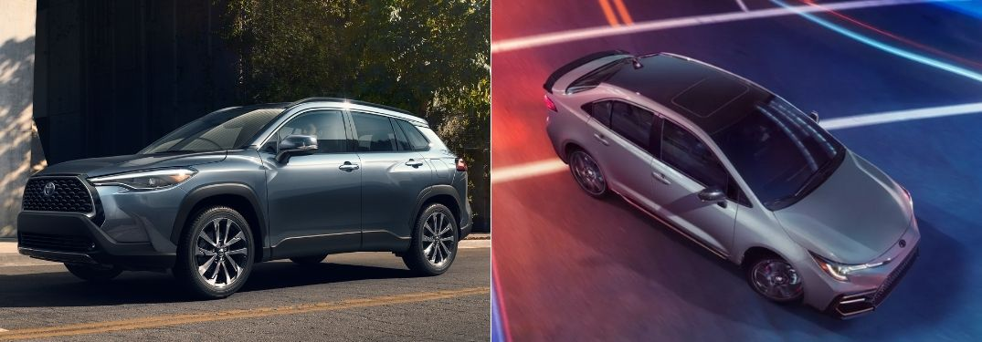 What Are the Differences Between the Toyota Corolla Cross and Toyota Corolla Sedan?