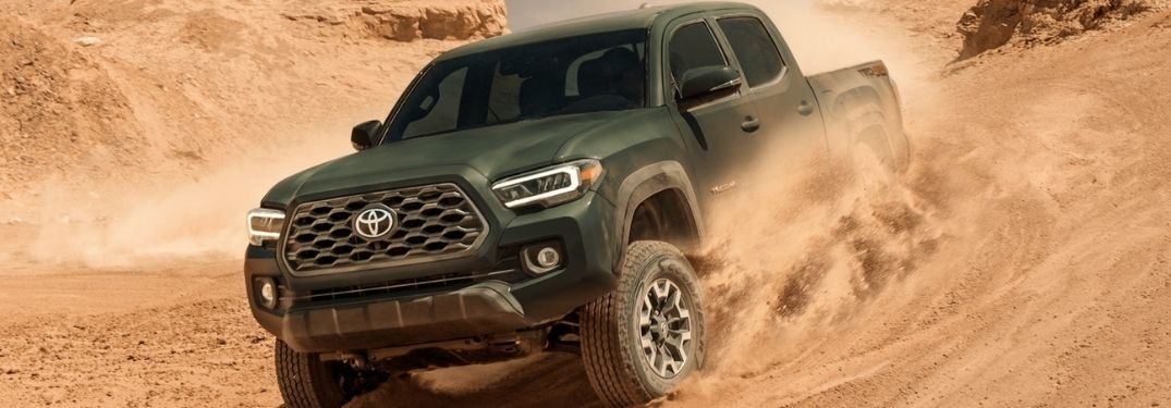 Learn More About Toyota 4WD and How it Works