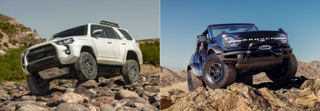 What Are the Differences Between the Toyota 4Runner and Ford Bronco?