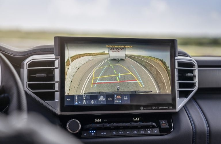 2022 Toyota Tundra Rearview Camera with Trailer