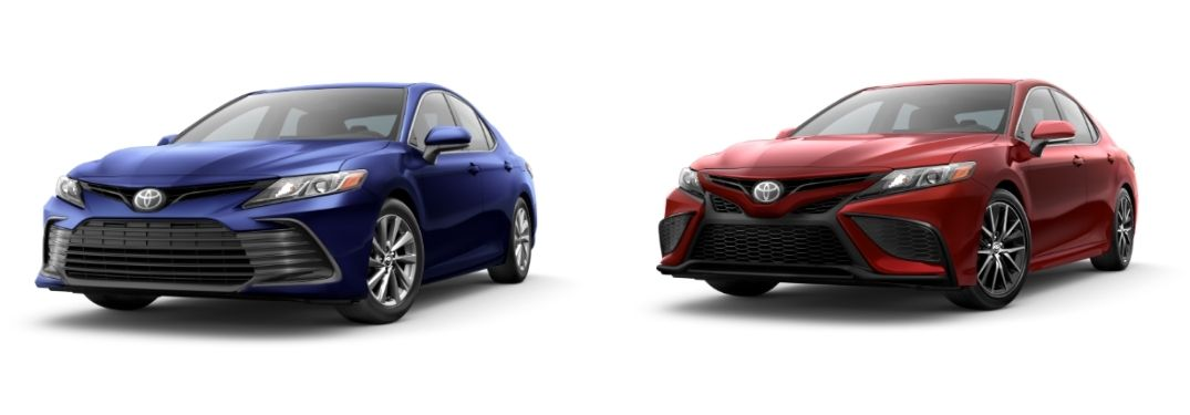 2021 Toyota Camry LE vs 2021 Toyota Camry SE: Which Camry Trim Level is the Right Fit?