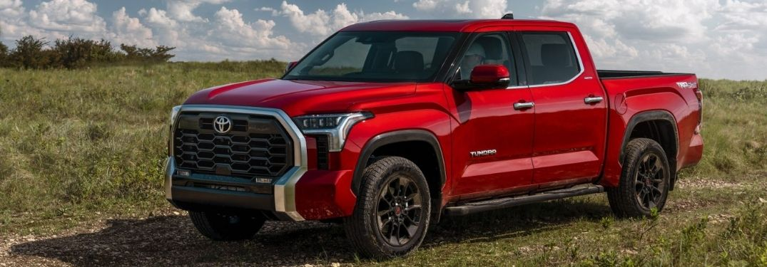 New 2022 Toyota Tundra Adds Best-In-Class 14-Inch Touchscreen Display