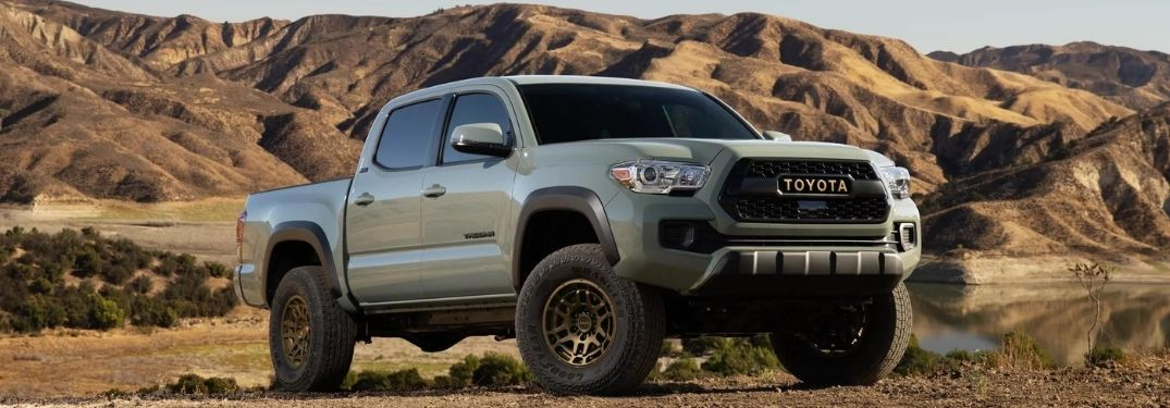 How Many Colors Does the 2022 Toyota Tacoma Come In?