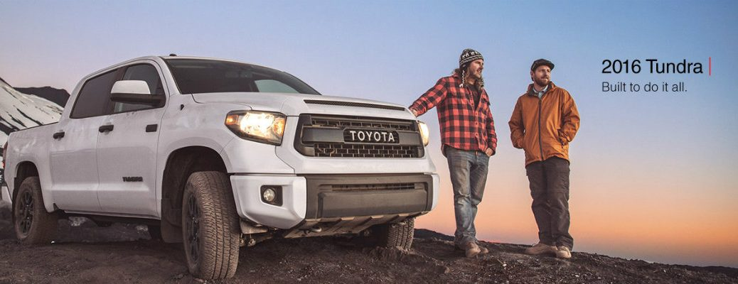 How Much Can I Tow with the 2016 Toyota Tundra