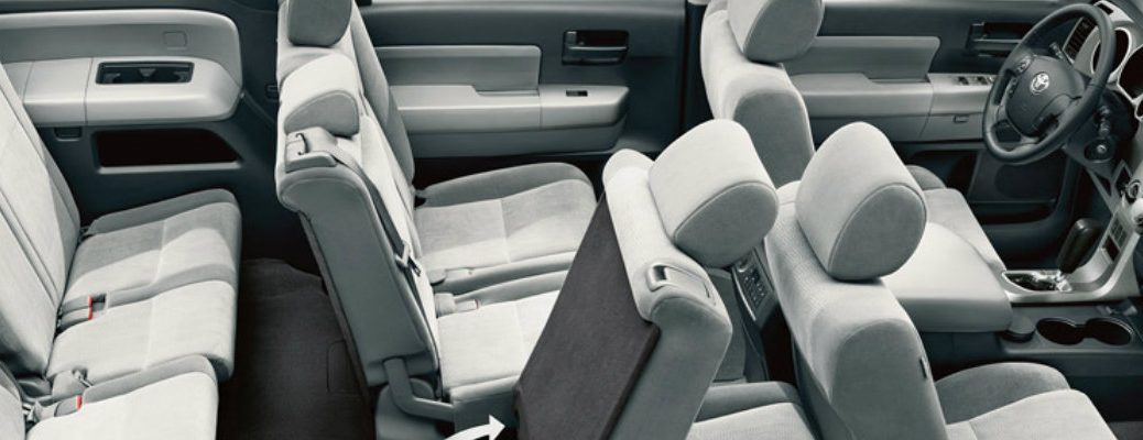 2016 Toyota Models with Three Rows of Seats