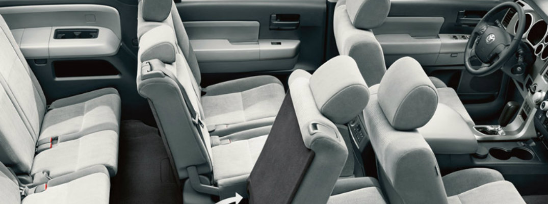 Third Row Seating >> 2016 Toyota Models With Three Rows Of Seats