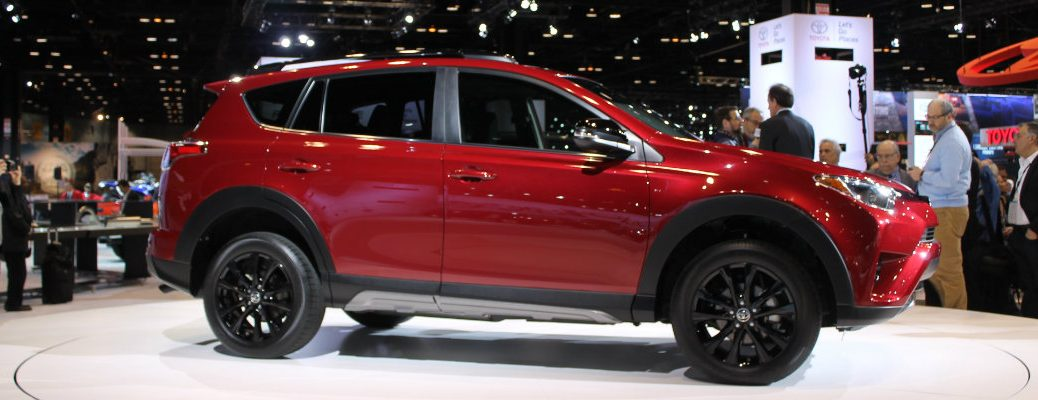 2018 Toyota RAV4 Adventure Chicago Auto Show debut pictures and release date