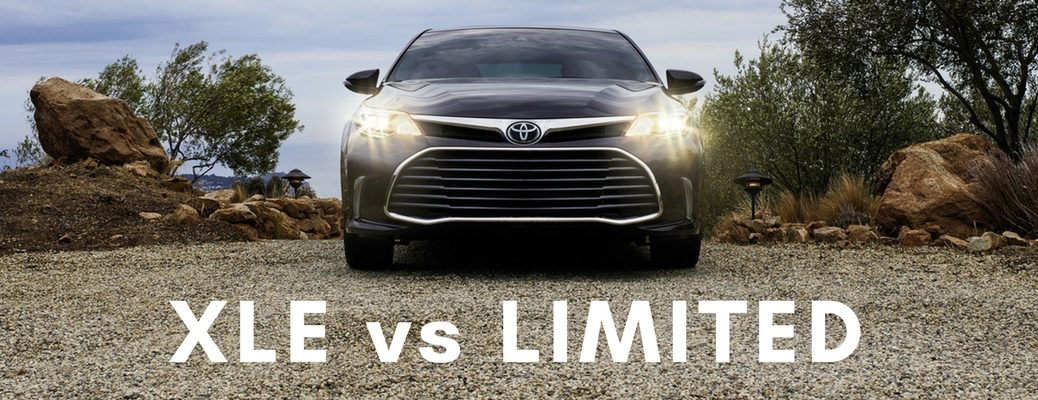 2017 Toyota Avalon XLE vs Limited