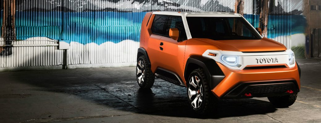 what is Toyota FT-4X Concept