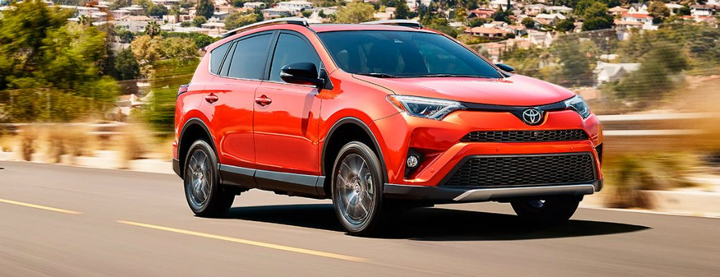 Safety Features on the 2017 Toyota RAV4 Exterior