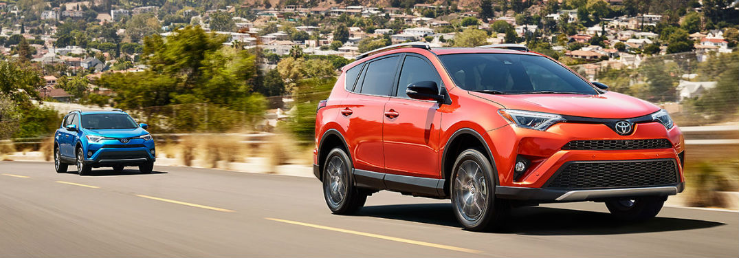 2018 Toyota Rav4 Vs 2018 Ford Escape Which Is Better Autotrader