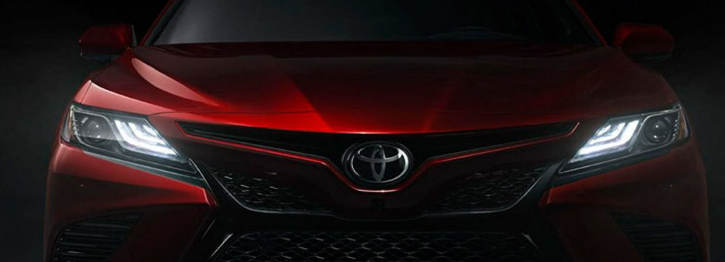 2018 Toyota Camry model front view