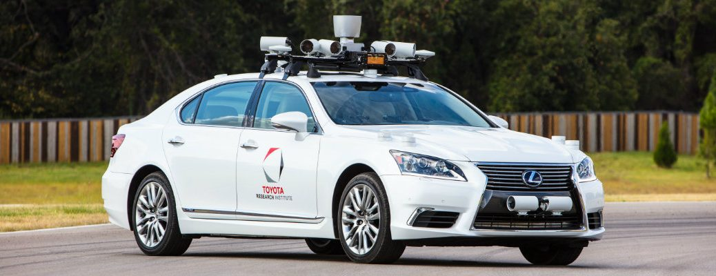 Toyota Research Institute autonomous driving model