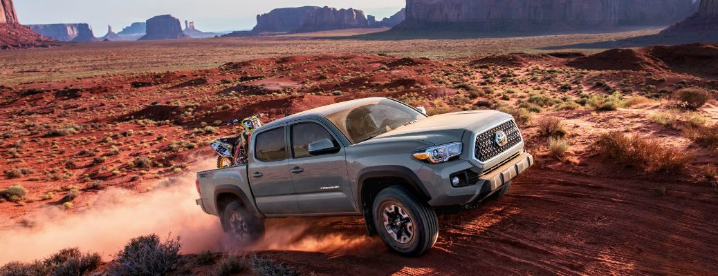 2018-Toyota-Tacoma-driving-off-road-in-the-desert
