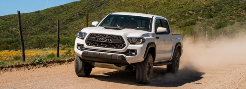 2018 Toyota Tacoma TRD Pro in white