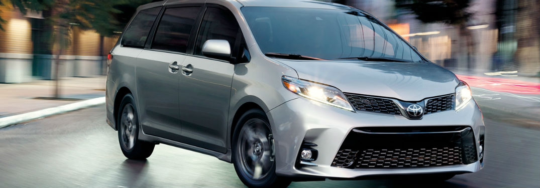 How much space is in the Sienna?