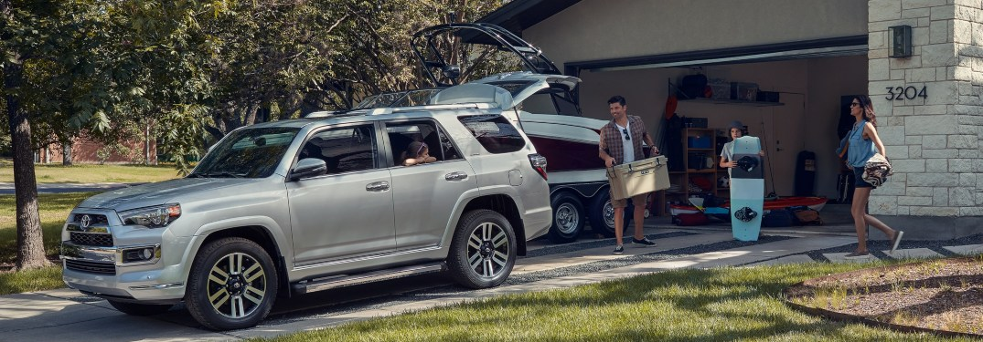 How many people can fit inside the Toyota 4Runner?