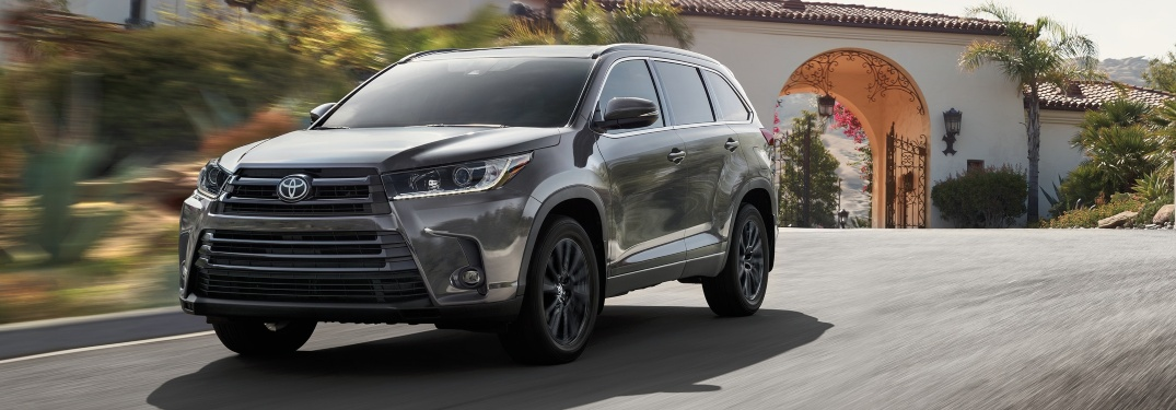 Find your Toyota SUV in the Pittsburgh area