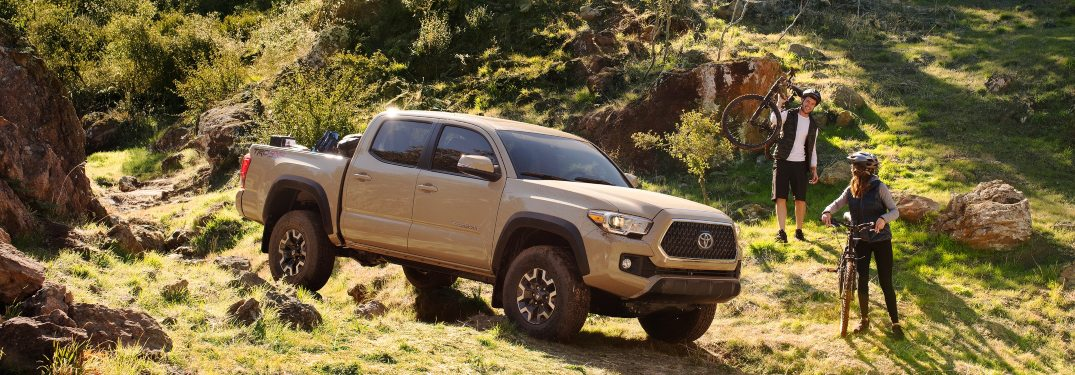 How far can the Toyota Tacoma go on a tank of gas?
