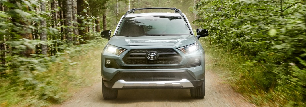 What features make the RAV4 good for off-road?