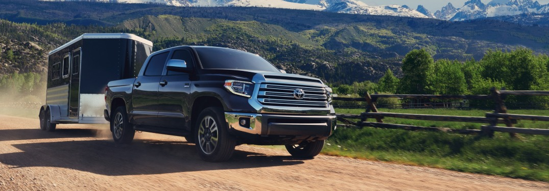 How much can the 2020 Toyota Tundra tow?