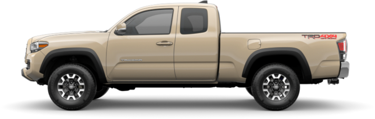 2020 Toyota Tacoma Access Cab side view