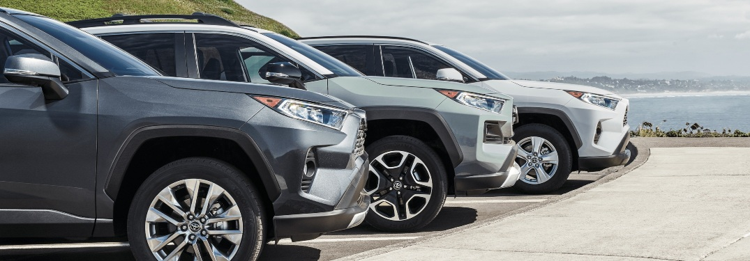 Is the 2020 RAV4 available with two-tone color options